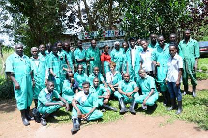 TRAINING OF UGANDA MARTYRS UNIVERSITY IN BSFL PRODUCTION KICKS OFF