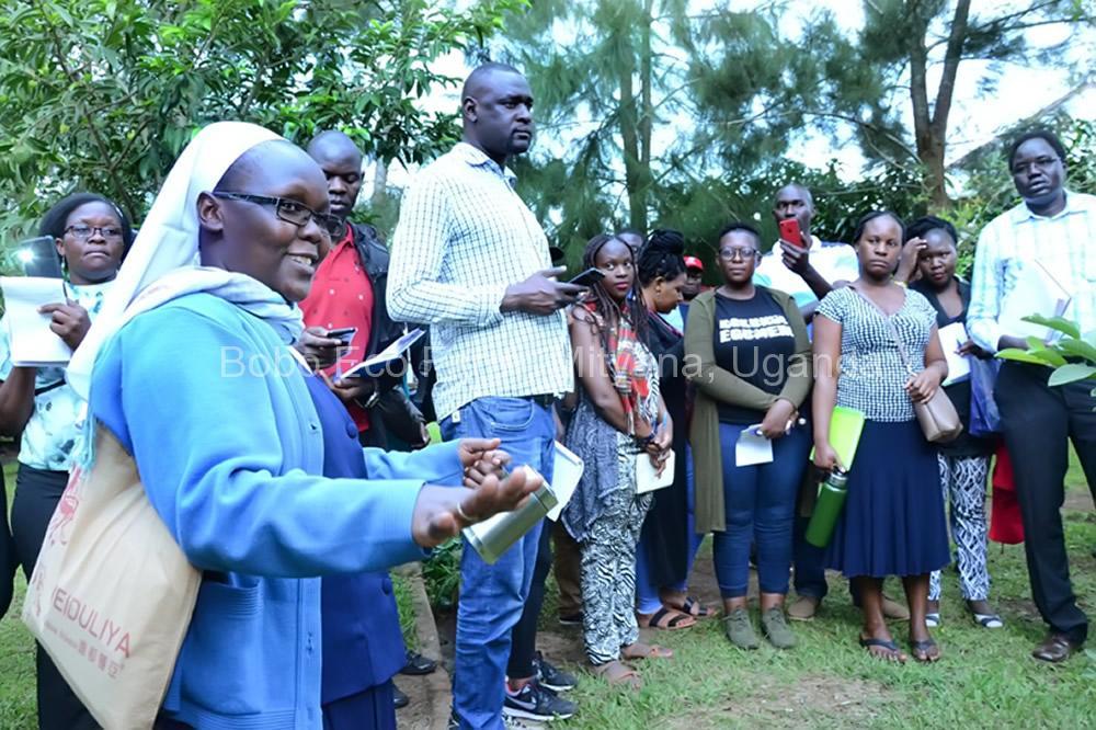 Master of Development Studies students on a study tour at Bobo Eco Farm1