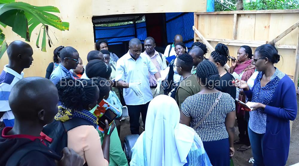 Master of Development Studies students on a study tour at Bobo Eco Farm5