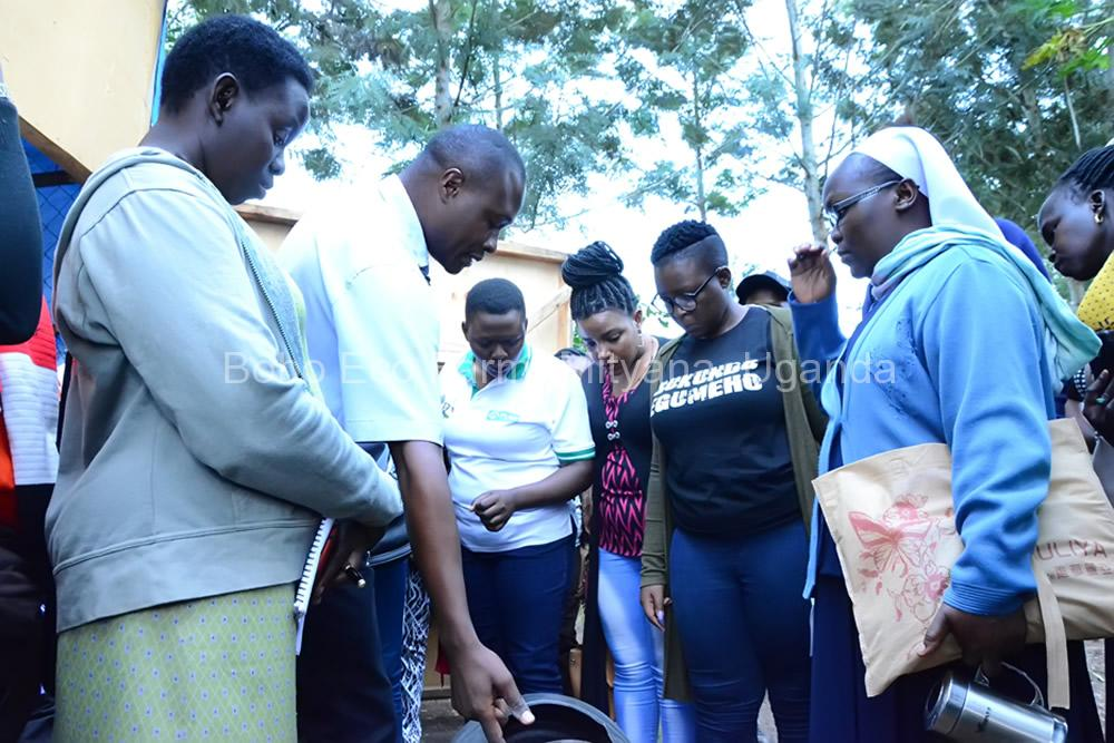 Master of Development Studies students on a study tour at Bobo Eco Farm6