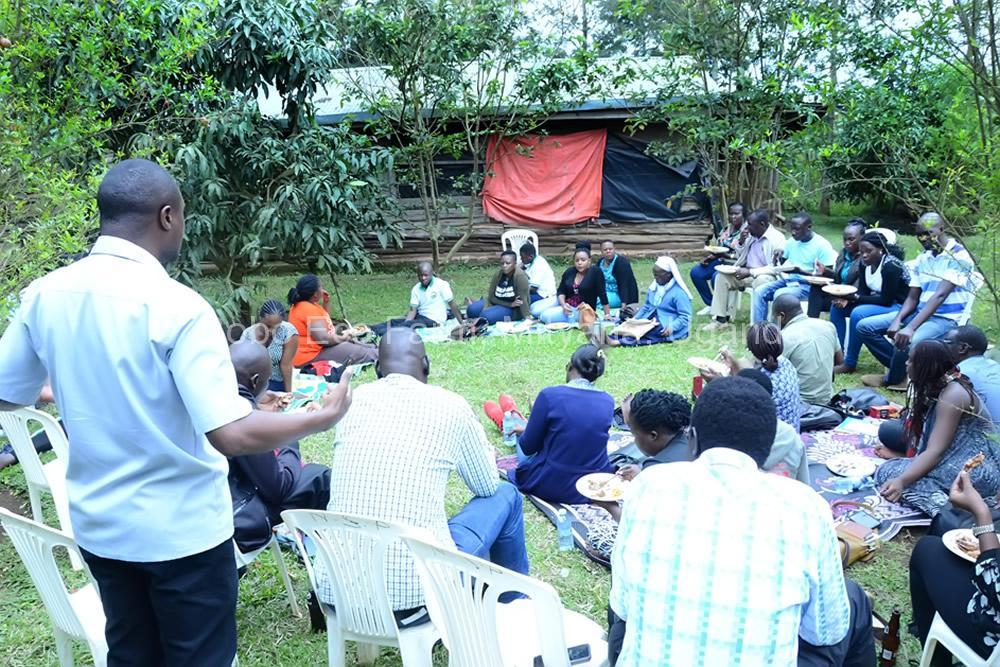 Master of Development Studies students on a study tour at Bobo Eco Farm7