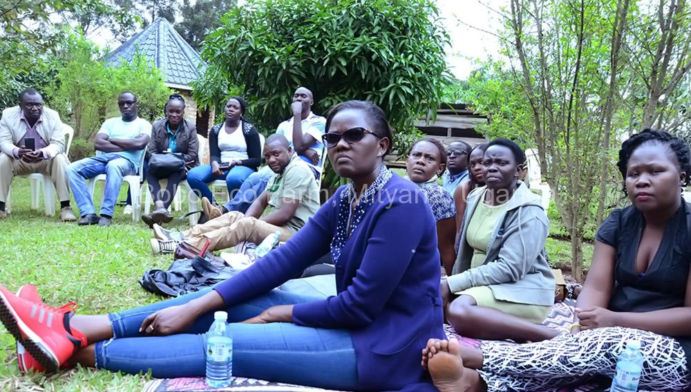Master of Development Studies students on a study tour at Bobo Eco Farm8